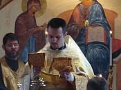 Fr. John Hopko tutored the newly ordained Fr. Nick.